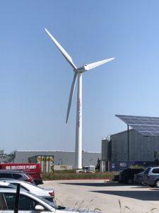 Method wind turbine